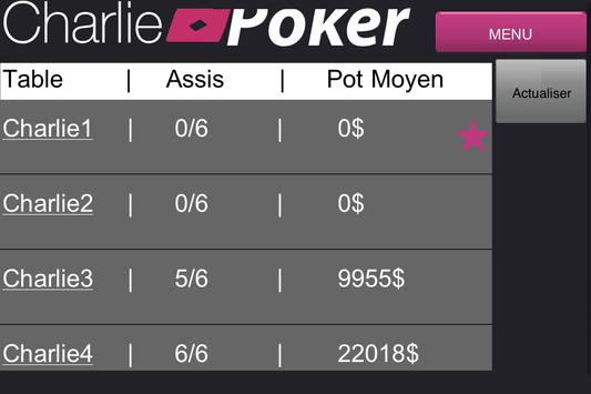 Charlie Poker apk screenshot