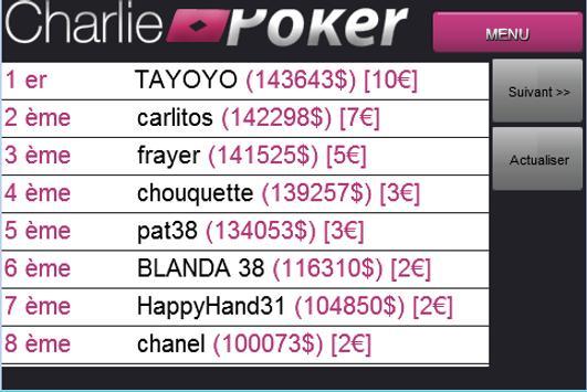 Charlie Poker screenshot 5
