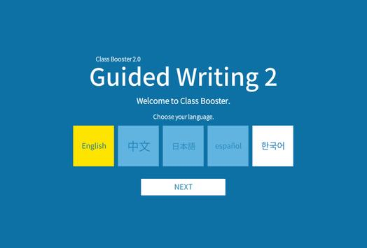 Guided Writing 2 poster