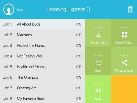 Listening Express 3 poster
