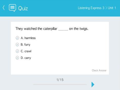 Listening Express 3 apk screenshot