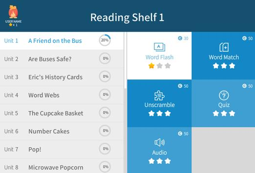 Reading Shelf 1 apk screenshot