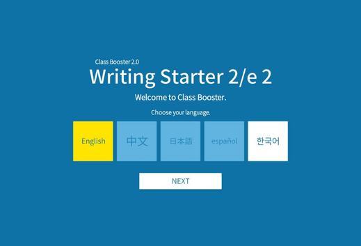 Writing Starter 2nd 2 poster