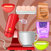 cooking games macaroons on kitchen icon