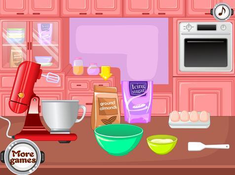 cooking games macaroons on kitchen screenshot 1