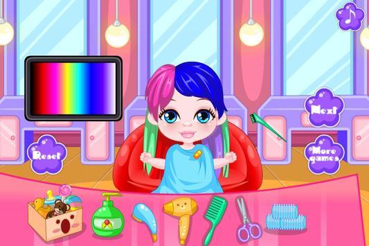 Baby Hairdresser screenshot 2