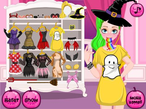 HalloweenMakeover for snapchat apk screenshot