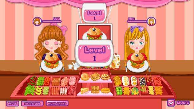 Sandwich Contest apk screenshot