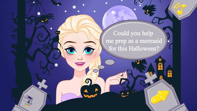 Halloween Mermaid Makeover apk screenshot