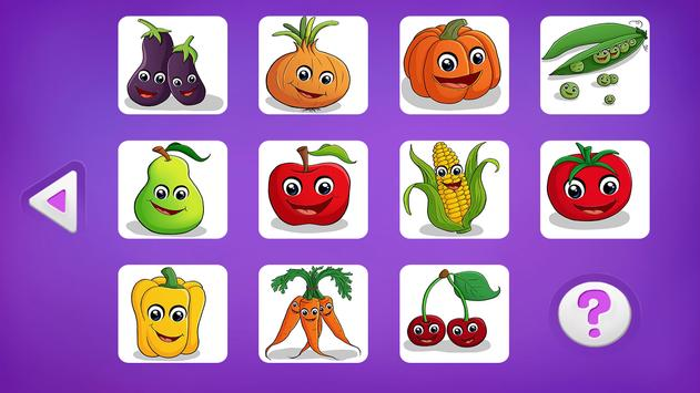 Shuffle: Fruits and Vegetables screenshot 3