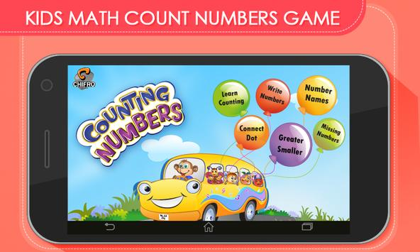 Kids Math Count Numbers Game poster