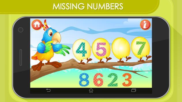 Kids Math Count Numbers Game apk screenshot