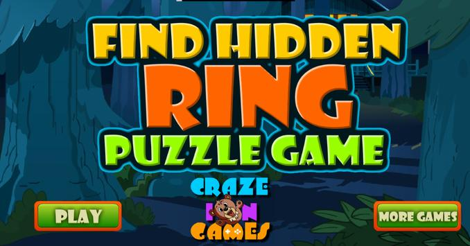 Find Hidden Ring Puzzle Game poster