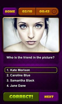 Friends Trivia poster