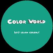 Colour World - Learn Colours icon