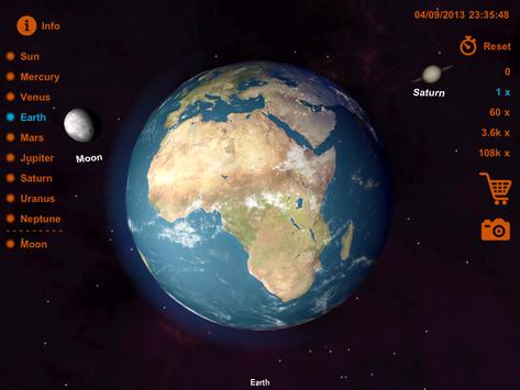 Solar System D APK Download Free Education APP For Android - Solar system map 3d