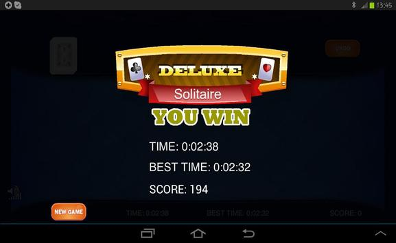 Classic Solitaire screenshot 10