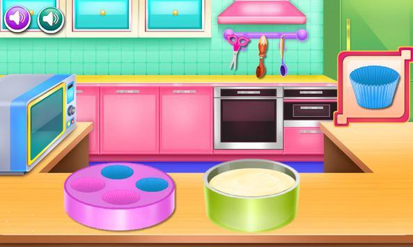cooking cake games for girls screenshot 1