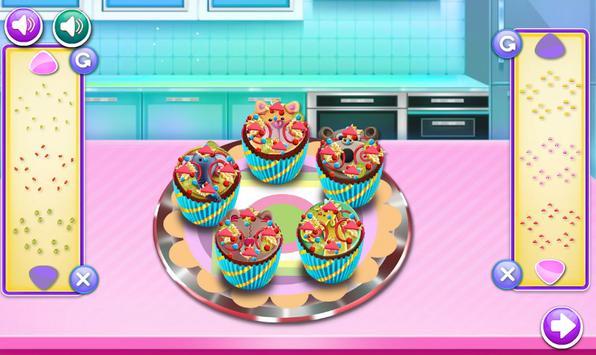 cooking cake games for girls screenshot 3