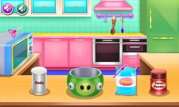 cooking cake games for girls screenshot 4