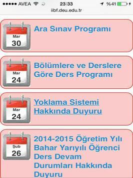Deu İİBF screenshot 5