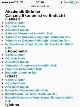 Deu İİBF screenshot 7