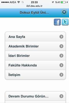 Deu İİBF screenshot 2