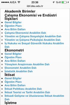 Deu İİBF screenshot 3