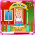 Kindergarten baby care games