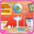 Bathroom cleaning girls games