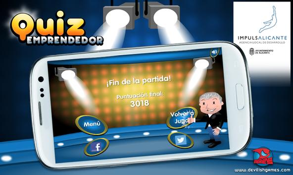QUIZ Emprendedor apk screenshot
