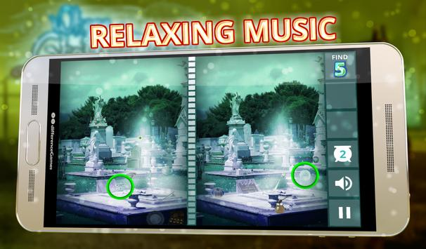 Spot The Differences Ghosts screenshot 14