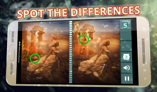Find the Differences - Fairies apk screenshot