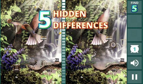 Spot the Differences: Aviary poster
