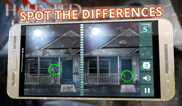 Find Differences Haunted House poster