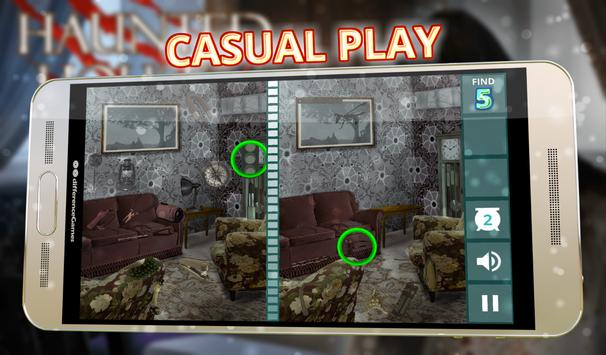 Find Differences Haunted House apk screenshot