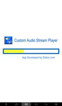 Custom Audio Stream Player X apk screenshot