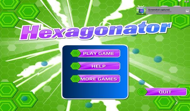 Hexagonator Free poster