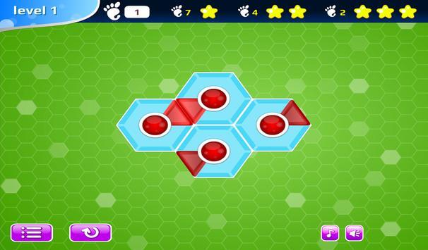 Hexagonator Free apk screenshot