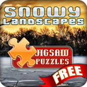30 Jigsaw of Snowy Landscapes icon