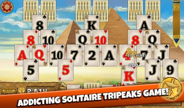 ... 3 Pyramid Tripeaks Solitaire - Free Card Game apk screenshot ...