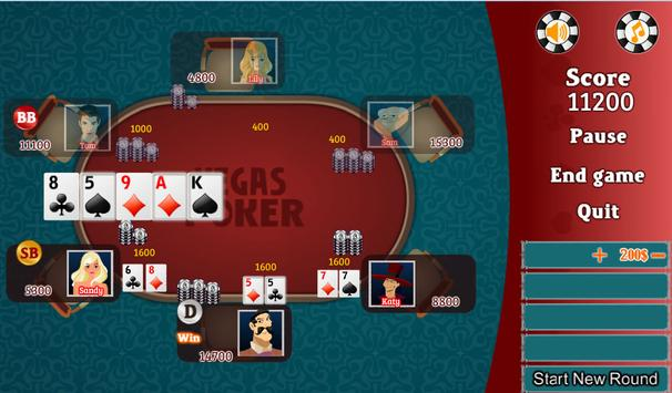 Vegas Poker Free apk screenshot