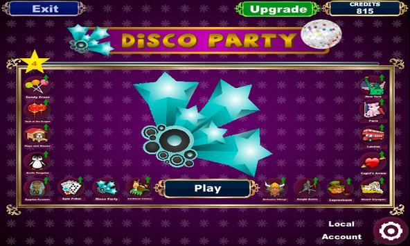 Disco Party Slots poster