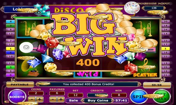 Disco Party Slots apk screenshot