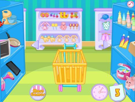 Rich Girls Shopping Market - Cooking games girls screenshot 6