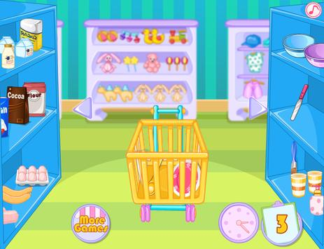 Rich Girls Shopping Market - Cooking games girls screenshot 7