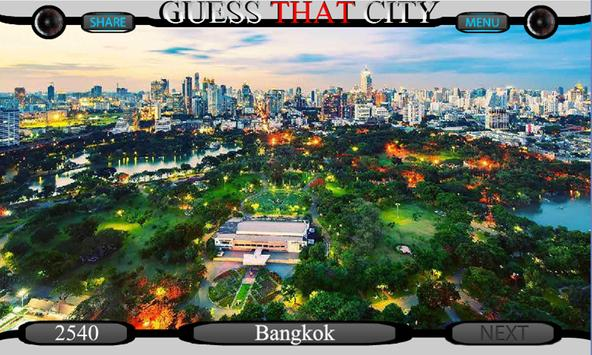 Guess The City poster