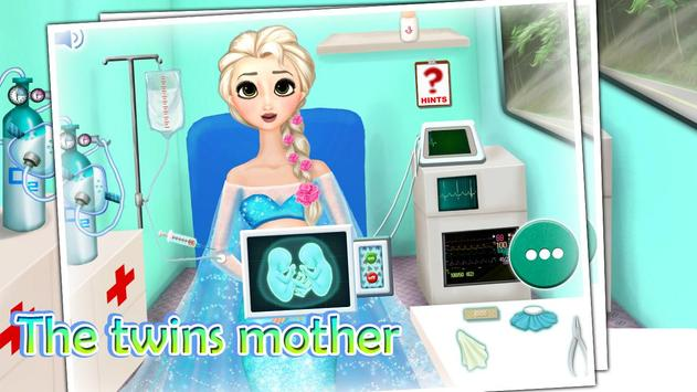 Injured twins mother poster