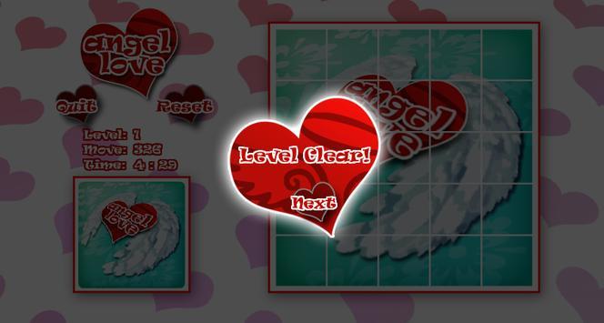 Angelove Slide Puzzle apk screenshot
