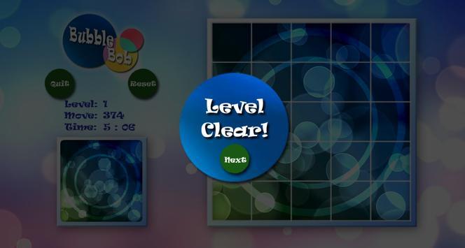 BubbleBob Slide Puzzle apk screenshot
